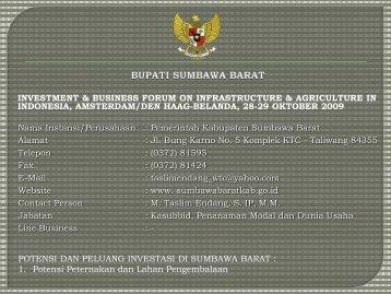 Pemerintah Kabupaten Sumbawa Barat