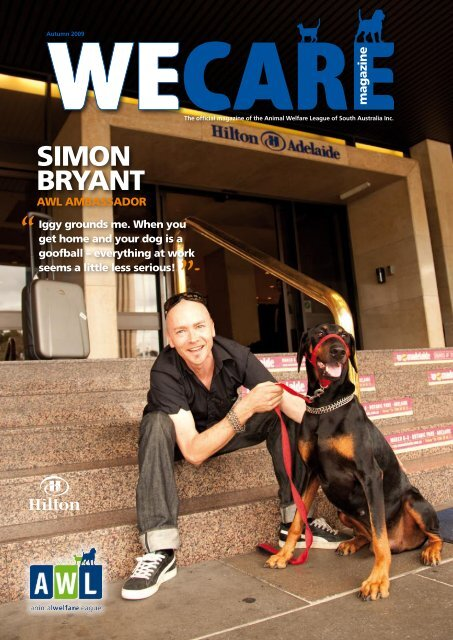 Simon Bryant Animal Welfare League Of South Australia Inc