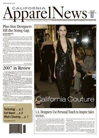 22_CAN122807lettersi.. - California Apparel News