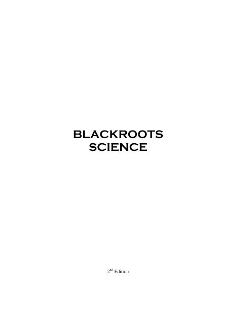 BlackRoots Science PDF - Get a Free Blog