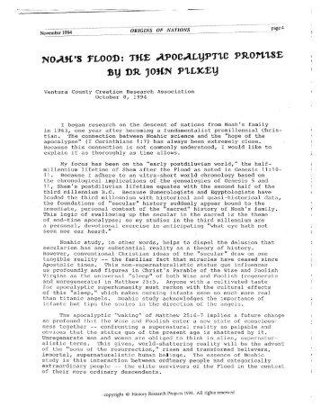Apocalyptic Promise - Pilkey.pdf - Origin of Nations
