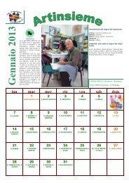 Scarica il Calendario 2013 - ARTINSIEME