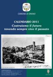 Download calendario - Comune di Onano