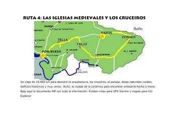 RUTA 4: Las iglesias medievales y los cruceiros - Chimereguide.org