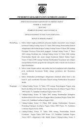 pemerintah kabupaten sumbawa barat - Mahkamah Konstitusi RI
