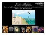 Ocean acidification - OceanObs'09