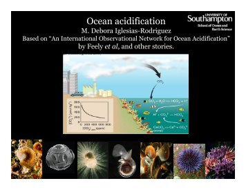 Ocean acidification - OceanObs'09
