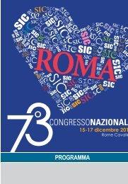 73° Congresso Nazionale della Società Italiana di Cardiologia