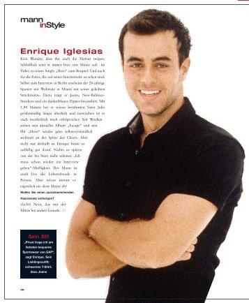 Enrique Iglesias mann inStyle - Jens-stefan-huebel.de