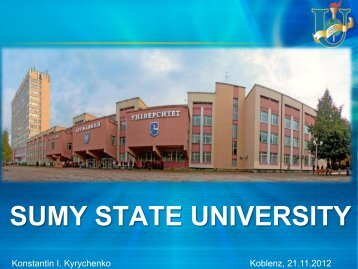 15-Sumy State University .pdf - Inarm: Tempus Project