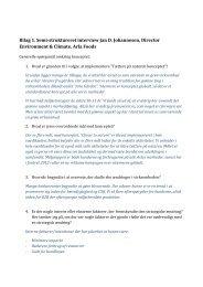 Bilag. Analyse af Arla Foods strategiske overvejelser - PURE