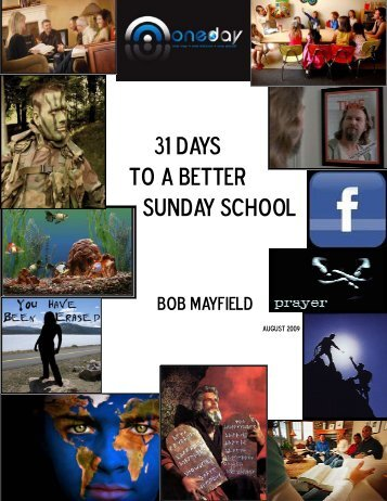 31 Days to a Better Sunday School - Baptist General Convention of ...