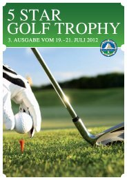 golf Am freitAg, 20. juli 2012 - Seiler Hotels Zermatt