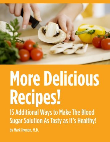 Delicious Recipes! - Dr. Mark Hyman