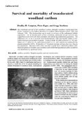 Survival and Mortality of Translocated Woodland Caribou - Page 2
