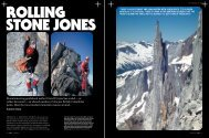Mountaineering guidebook author David P. Jones has scaled – or ...