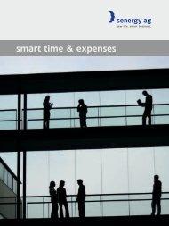 smart time & expenses - bei senergy ag