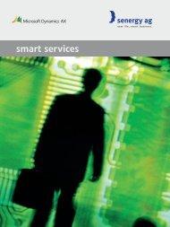 smart services - bei senergy ag