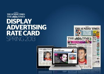 DISPLAY ADVERTISING RATE cARD - NI Commercial