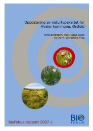 BioFokus-rapport 2007-1