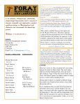 Newsletter of - Foray Newfoundland and Labrador - Page 2