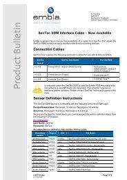 Embla Interface SenTec