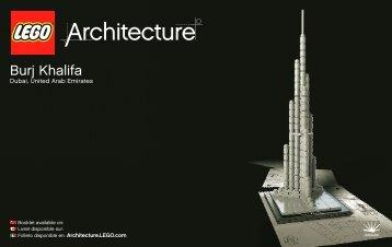 Burj Khalifa - Lego