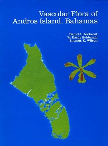 Vascular Flora of Andros Island, Bahamas - Plant Biology