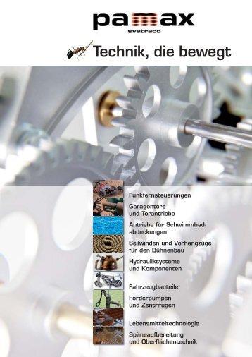 Technik, die bewegt - Sensor Marketing AG