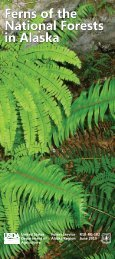 Ferns of the National Forests in Alaska Ferns - USDA Forest Service