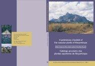 A preliminary checklist of the vascular plants of ... - SABONET
