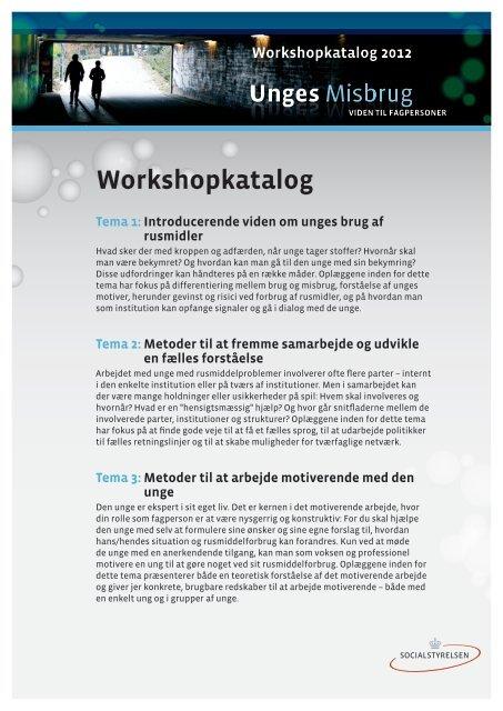 Workshopkatalog