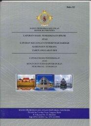 lhp kepatuhan sumbawa 2011 - Pemerintah Kabupaten Sumbawa