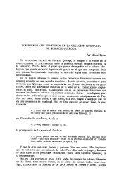 LOS PERSONAJES FEMENINOS EN LA CREACIÓN LITERARIA ...