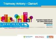 Description du projet - Tramway Antony-Clamart