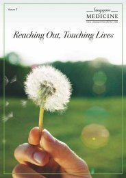 Reaching Out, Touching Lives: Issue 1 (1.66 MB - SingaporeMedicine