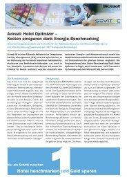 Case Study zu Avireal: Hotel Optimizer - Kosten ... - Sevitec AG