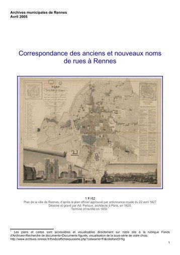 Archives municipales de Rennes - Ville de Rennes