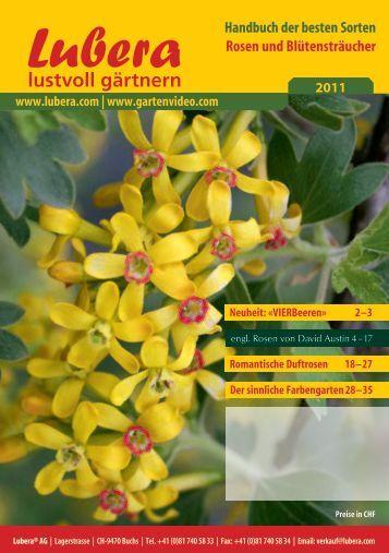 Katalog Rosen 2011 - Lubera