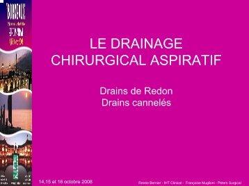 Drainage aspiratif - Euro-Pharmat