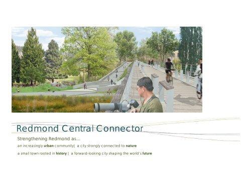 Redmond Central Connector - City of Redmond