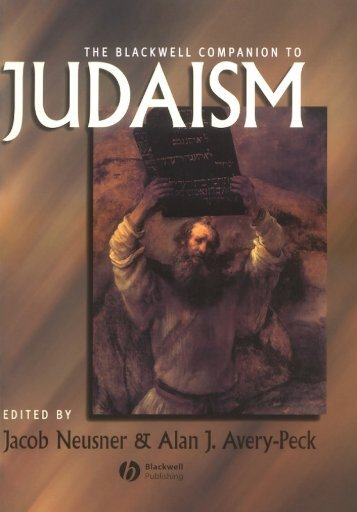 The Blackwell Companion to Judaism - DanaKaplan.com