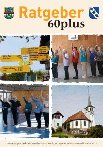 Broschüre 60plus