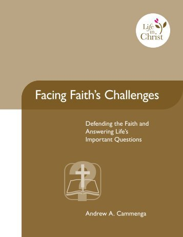 Facing Faith's Challenges - Reformed Fellowship