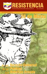 RESISTENCIA - FARC-EP Bloques Iván Ríos y Martín Caballero