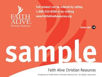 The Reformed Handbook - Faith Alive Christian Resources