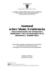 Manual sobre Sismo Resistencia - Camacol