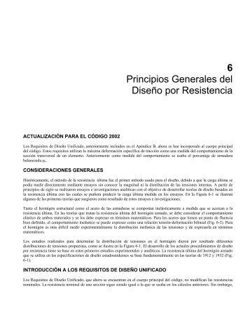6 Principios Generales del Diseño por Resistencia - INTI