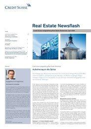 Real Estate Newsflash - Deutschland
