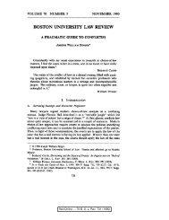 HeinOnline --- 70 B. U. L. Rev. 731 (1990) - iSites